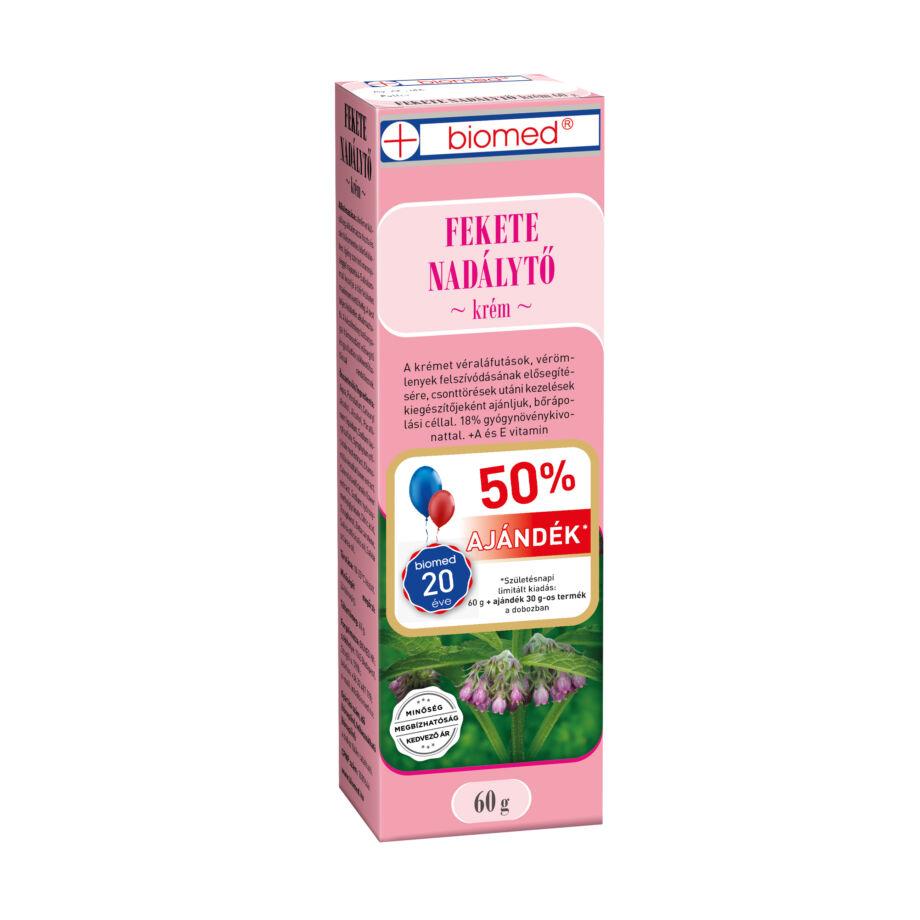 Biomed Fekete nadálytő Krém 60 g