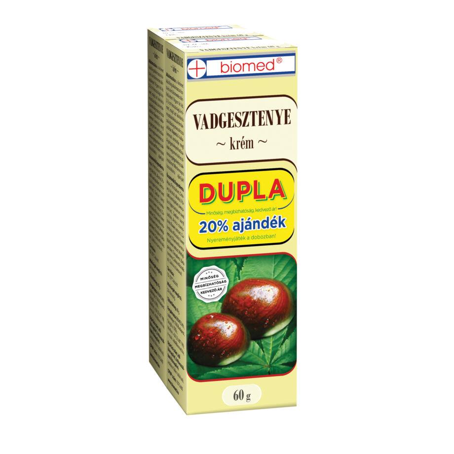 Biomed Vadgesztenye Krém DUPLA 2x60 g