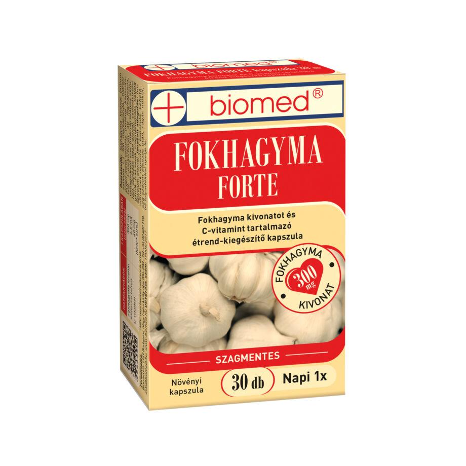Biomed Fokhagyma FORTE kapszula 30 db