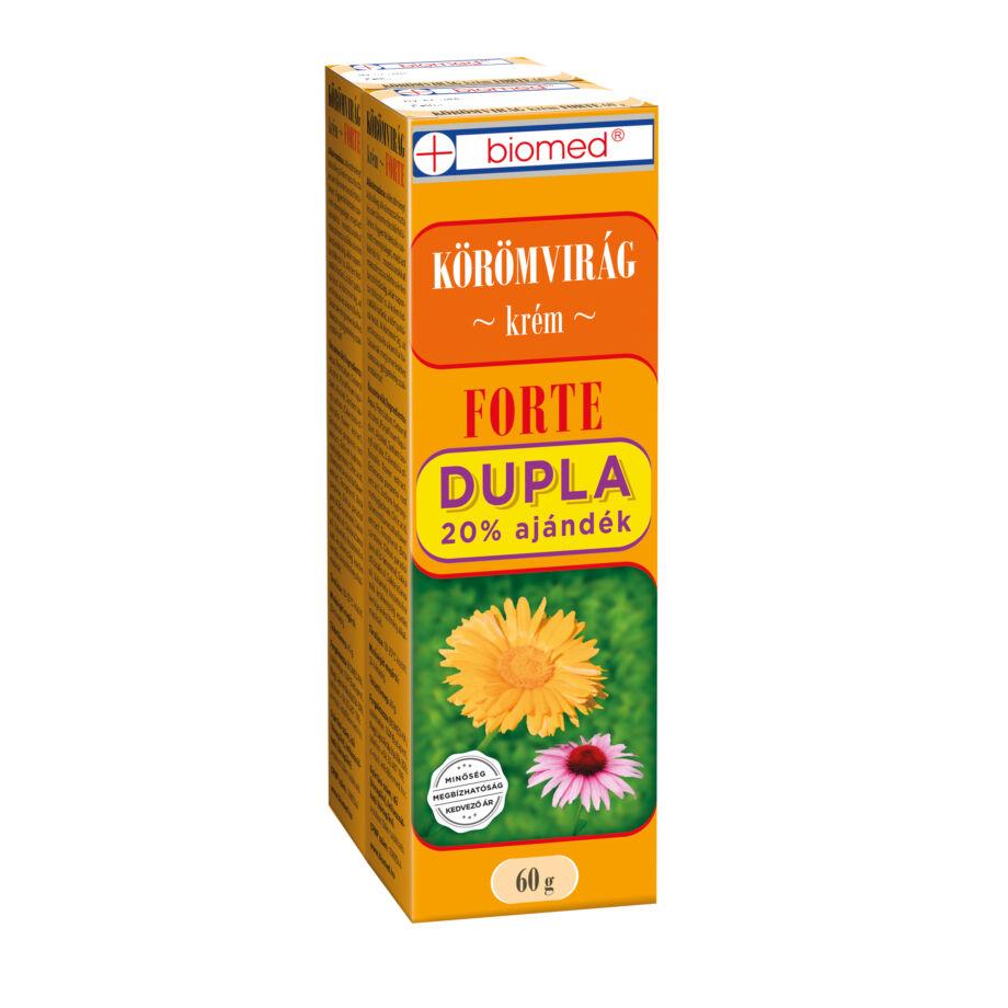Biomed Körömvirág Krém FORTE DUPLA 2x60 g