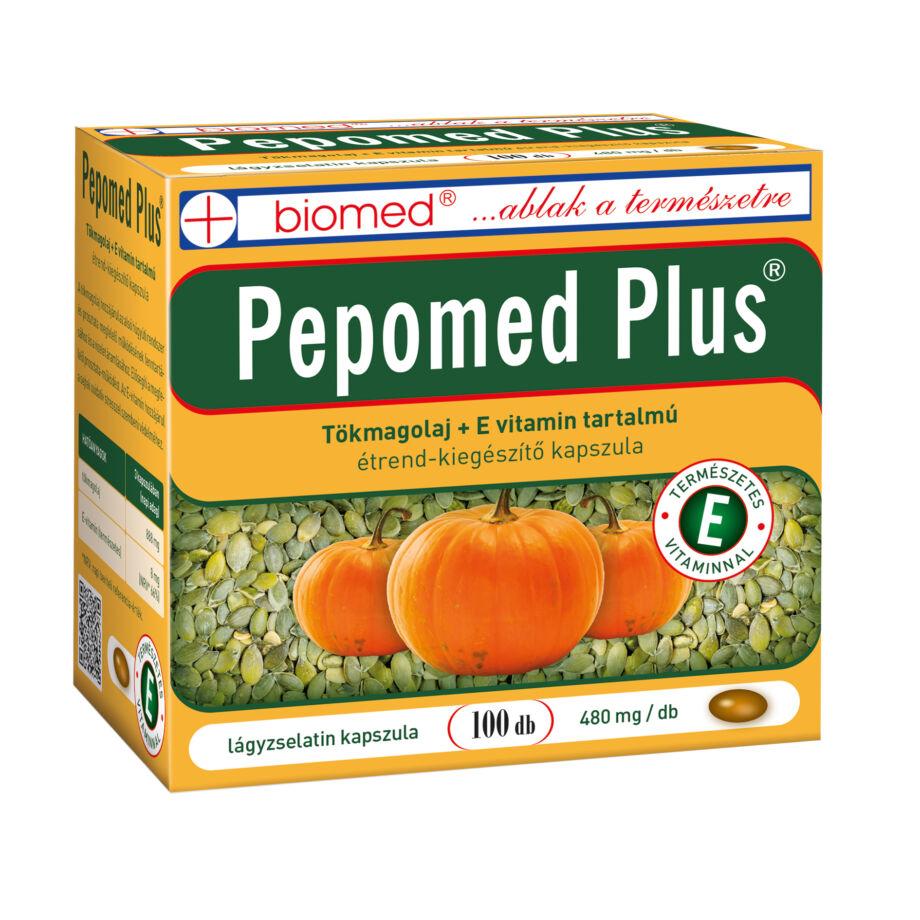 Biomed Pepomed Plus tökmagolaj kapszula 100 db